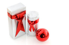 Christmas presents for men Royalty Free Stock Images