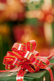Christmas presents with ribbons Royalty Free Stock Photos