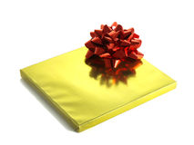 Christmas presents in shiny foil wrappers Royalty Free Stock Photos