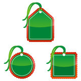 Christmas Price Tags royalty free illustration