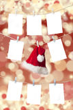 Christmas pricing tags Stock Images