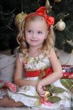 Christmas princess Stock Image
