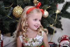 Christmas princess Stock Photo