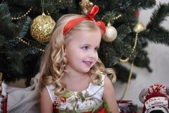 Christmas princess Stock Photo