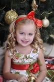 Christmas princess Stock Images