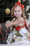 Christmas princess Royalty Free Stock Photo