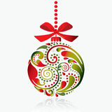 Christmas print. Christmas toy. Stock Images