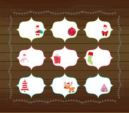 Christmas printables Stock Photos
