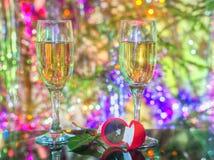 Christmas proposal... Stock Photos