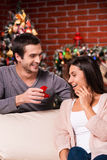 Christmas proposal. Stock Image