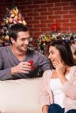 Christmas proposal. Stock Image