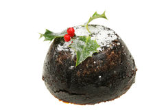 Christmas pudding Stock Photography
