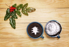 Christmas pudding Stock Photos