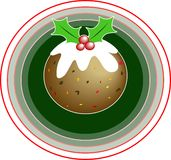 Christmas Pudding Stock Image