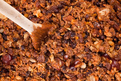 Christmas Pudding Mix Stock Photography