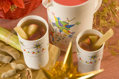Christmas Punch royalty free stock image