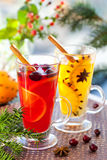 Christmas punch Royalty Free Stock Photos