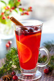 Christmas punch Royalty Free Stock Photography