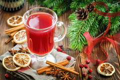 Christmas punch Stock Images