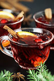 Christmas Punch Stock Image