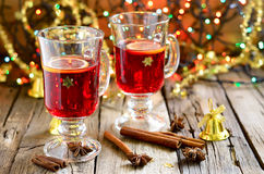 Christmas punch Stock Photo