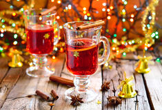 Christmas punch Stock Photography