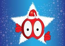Christmas puppet Stock Image