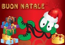 Christmas puppet Stock Photo
