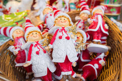 Christmas puppets Stock Photography