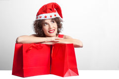 Christmas purchases Royalty Free Stock Photos