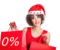 Christmas purchases Royalty Free Stock Images