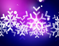 Christmas purple abstract background  Stock Images