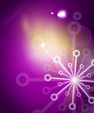 Christmas purple abstract background Royalty Free Stock Photos