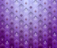 Christmas purple background Stock Image