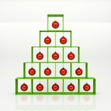Christmas pyramid Royalty Free Stock Photography