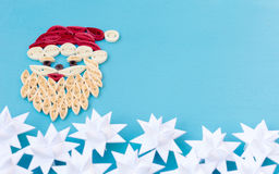 Christmas quiling decoration elements Stock Photography