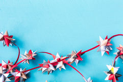 Christmas quiling decoration elements Stock Images