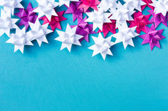 Christmas quiling decoration elements Stock Photo