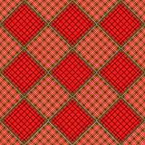 Christmas Quilt Background Stock Photos