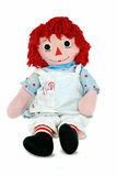 Christmas rag doll Royalty Free Stock Images