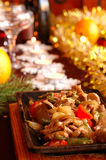 Christmas ragout Royalty Free Stock Image