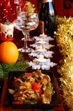 Christmas ragout Stock Image