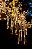 Christmas raindeers. Many christmas light ornaments, deers, raindeers etc Royalty Free Stock Images