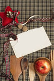 Christmas Recipe Stock Photography