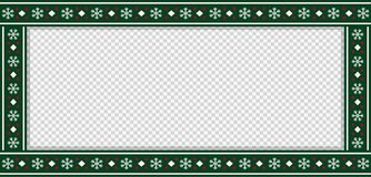 Christmas rectangle template, frame, banner, billboard, signboard, copy space royalty free illustration
