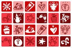 Christmas red Stock Photo