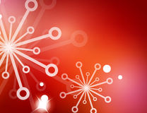 Christmas red abstract background  Royalty Free Stock Image