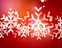 Christmas red abstract background  Royalty Free Stock Photo