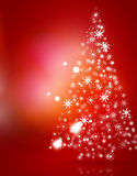 Christmas red abstract background  Stock Photo