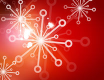 Christmas red abstract background with white Royalty Free Stock Photo